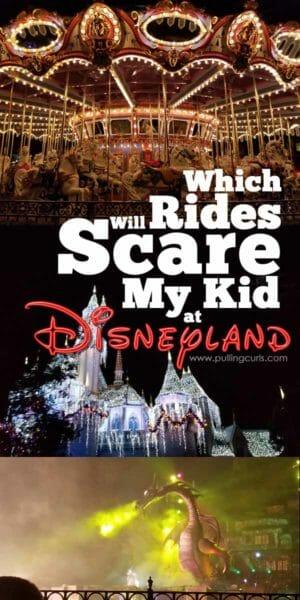 Scary rides at Disneyland