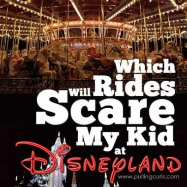 Which rides will scare my kid at Disneyland?