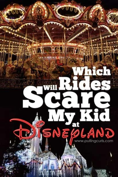 What are the scary rides at Disneyland