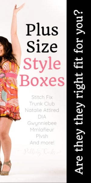 Plus Size Clothing Box Subscription Reviews / Stitch Fix Trunk Club Natalie Attired DIA Gwynniebee Mmlafleur Plvsh And more!