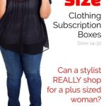 Plus Size Clothing Box Subscription Reviews