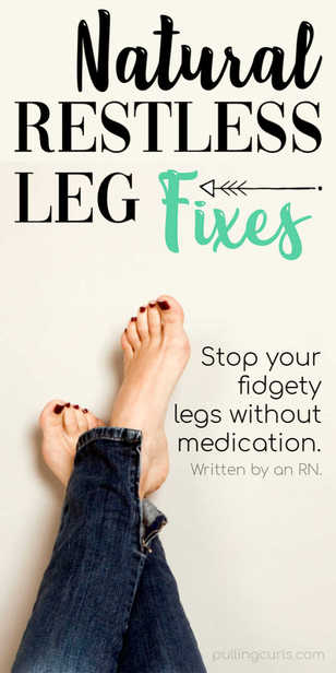 Did you know that many people have tried the wacky idea of using soap to relieve Restless Leg. This fidgety affliction can be treated with medication, but many find that natural remedies, like soap, are just as effective (with no side effects). via @pullingcurls