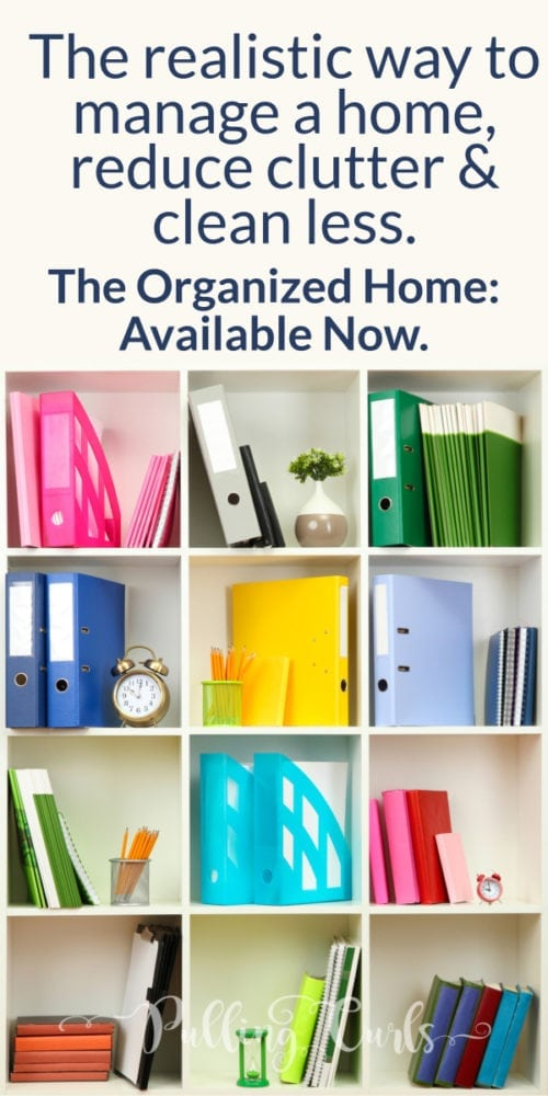 The Organized home will give you a plan to get YOUR house organized!