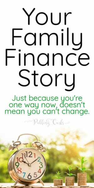 What's your family finances story?
