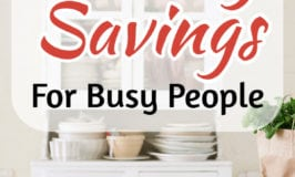 Grocery Savings Tips for Busy Moms