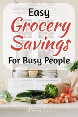 Groery Savings for Busy Moms - 5 tips / coupons / apps/ grocer stores