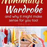 Minimalist Wardrobe: My Quest for the Capsule Wardrobe