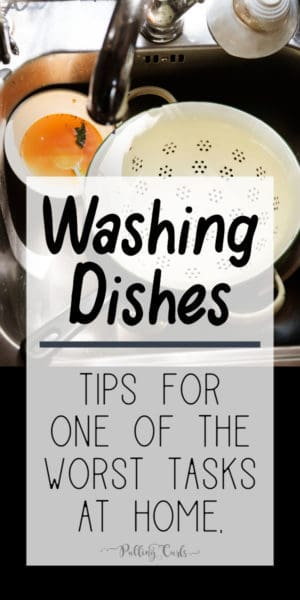 best tips for washing dishes