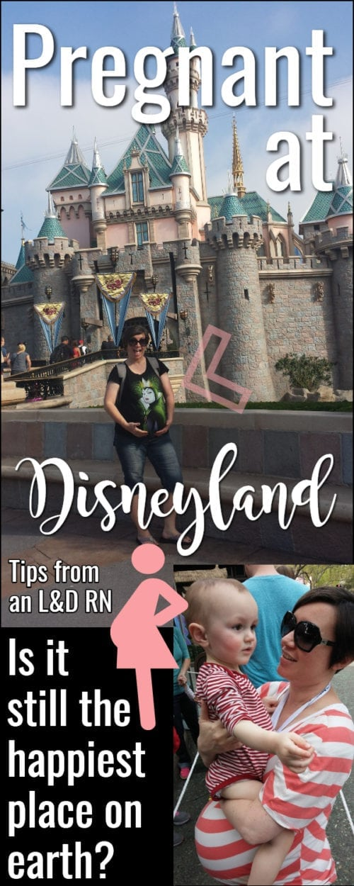 Disneyland while pregnant