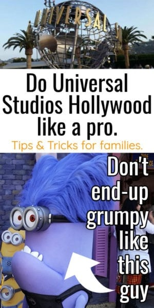 Universal Studios Hollywood Parking Tips