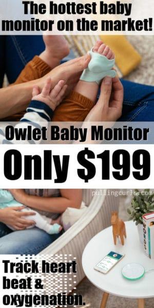 Owlet refurbished baby monitor $199