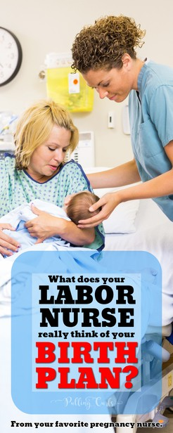 Find out what this labor nurse REALLY thinks about your birth plan -- plus what's best to put it in it? Includes a free template! via @pullingcurls