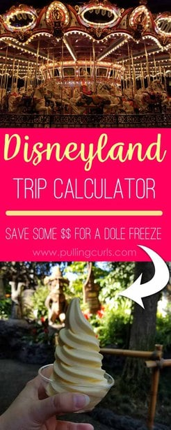 This Disneyland Trip Calculator will keep your trip on BUDGET and still have an amazing time, since you will easily have everything planned in advance!