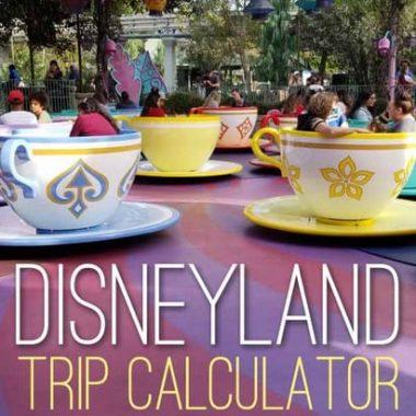Your Disneyland Budget