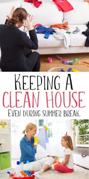 how to teach kids to keep house clean
