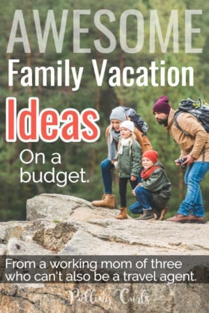 family summer vacation ideas on a budget