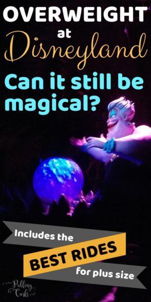 too fat for Disneyland?