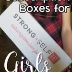 Monthly Subscription Boxes for Girls: Updated with Fall Strong Self{ie} box 2018
