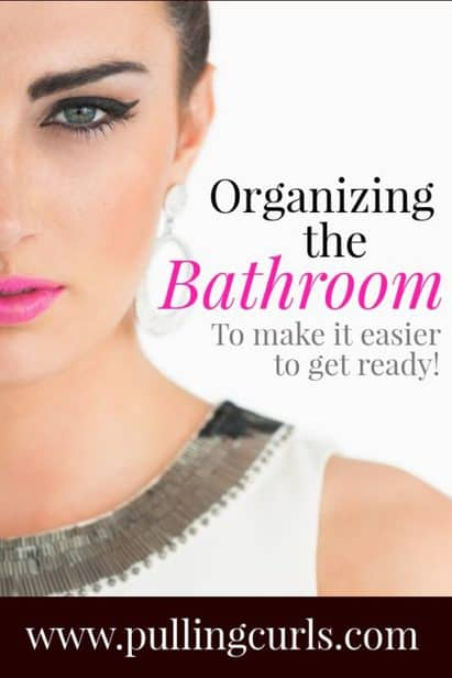 Decluttering the bathroom can feel so hard because all of the things in there are necessary for hygiene. Here are some great ideas for organizing your bathroom counters, drawers and more. No matter if you your bathroom is small or large -- this post will help you out!