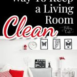 Organizing Your Living Room and Keeping It That Way