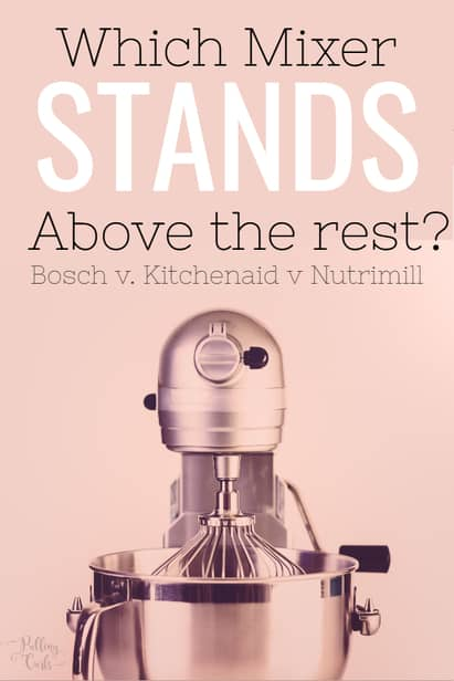 Charmant Bosch Vs Kitchenaid Mixer
