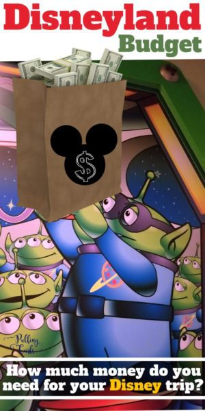 How much money do I need for Disneyland?
