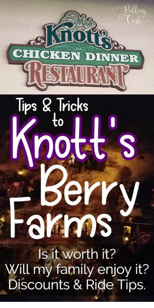 Knott's Berry Farms -- is it worth it?
