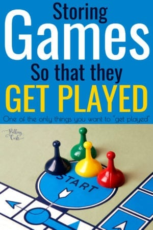 organizing games & puzzles