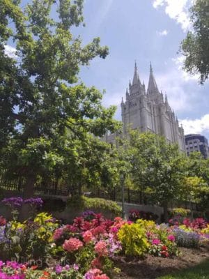 LDS Temple Square Salt Lake city, UT