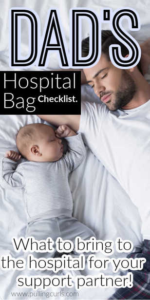 What should dad bring to the hospital for delivery? via @pullingcurls