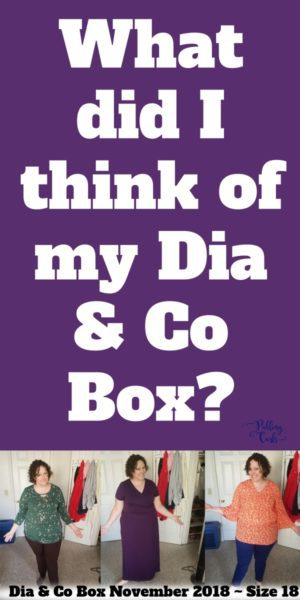 What did I think of my dia & co box?
