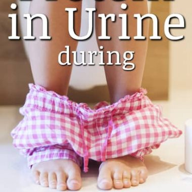 Why would you have protein in your urine while pregnant?