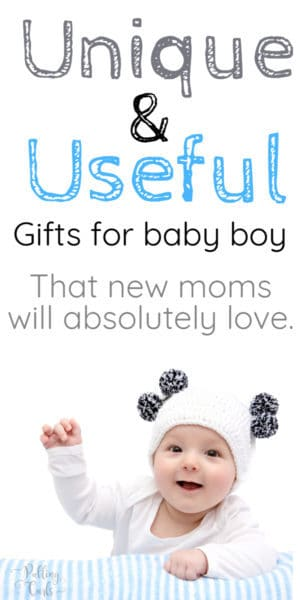 Unique newborn boy gifts