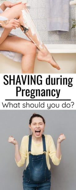 How to shave while pregnant