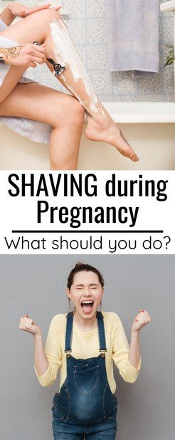I get the question FREQUENTLY about how to shave while pregnant -- and how to perform safe hair removal.  Can you use a cream, can you wax?  How do you maintain?  What's best to do before delivery and also when can you shave after delivery?