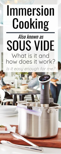 Sous Vide cooking is all the rage.  We'll talk about what IS sous vide cooking, how you could cook steak, chicken or eggs (and more).  Plus instructions and I'll share some of the YouTube channels that helped us love our new Anova.