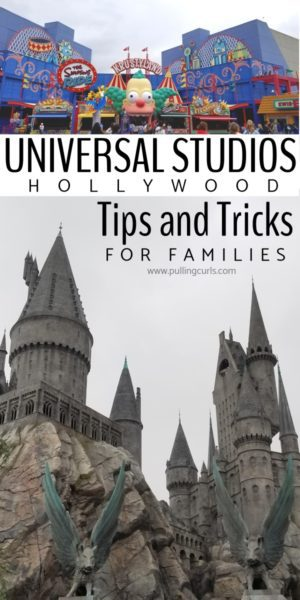 Family tips for Universal Studios Hollywood