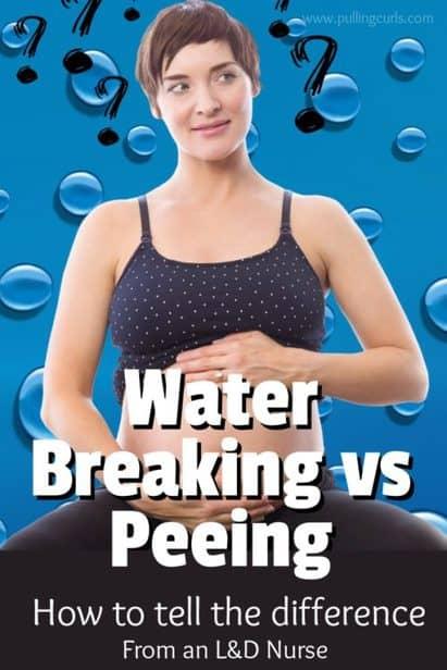 Did my water break or did I pee