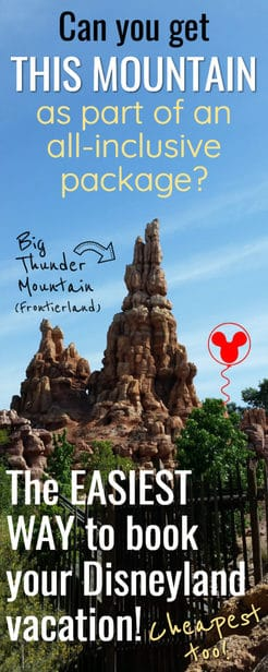 Disneyland all inclusive vacation packages