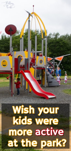a new way to enjoy the park with your kids!