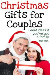 great ideas for couple gifts