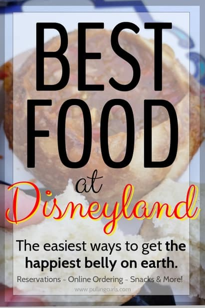 best way to order food at Disneyland
