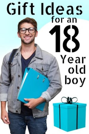 gifts for an 18 year old boy
