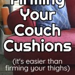 washing couch cushions