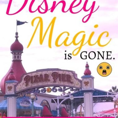 What to do when your Disneyland vacation isn't fun anymore