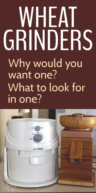 Picking a grain mill can be a hard task.  Today I will compare the Nutrimill Harvest with the Nutrimill Classic.  Share why you might consider a grain mill, how I use mine and which one I liked better! via @pullingcurls