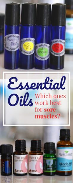 Rocky mountain oils for sore muscles