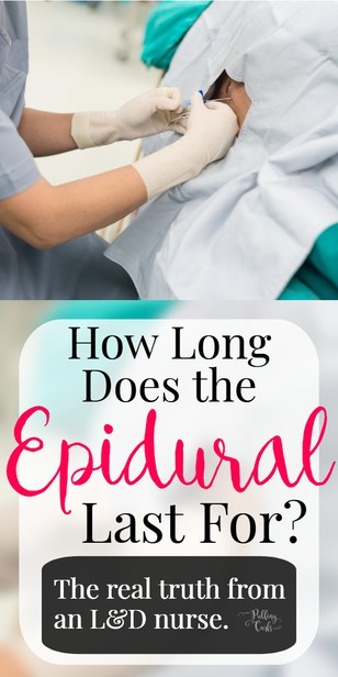 Ok, so far we've talked about how long is an epidural needle in inches. We've talked about the epidural -- how long before delivery you can get it. We've answered the question -- can you get an epidural right away AND how long does an epidural last after delivery. via @pullingcurls