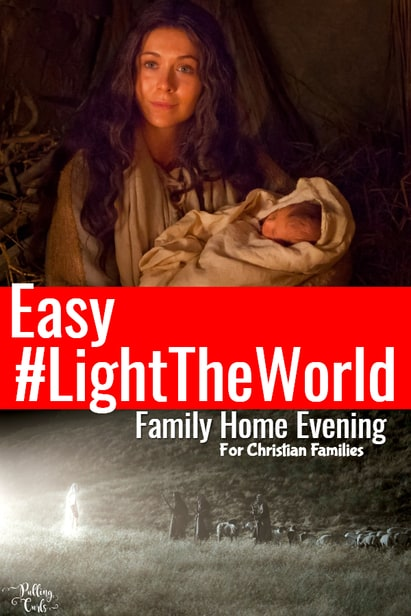 I was really wanting to do a Family Home Evening to introduce #lighttheWorld this year for Christmas.  Each week has such good themes, but I think there is something to darkness, that I really wanted my kids to understand. via @pullingcurls