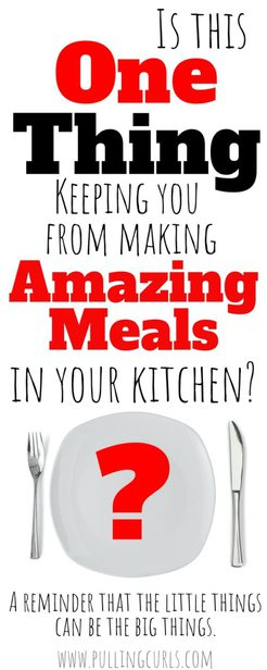 make better meals with silverware organization